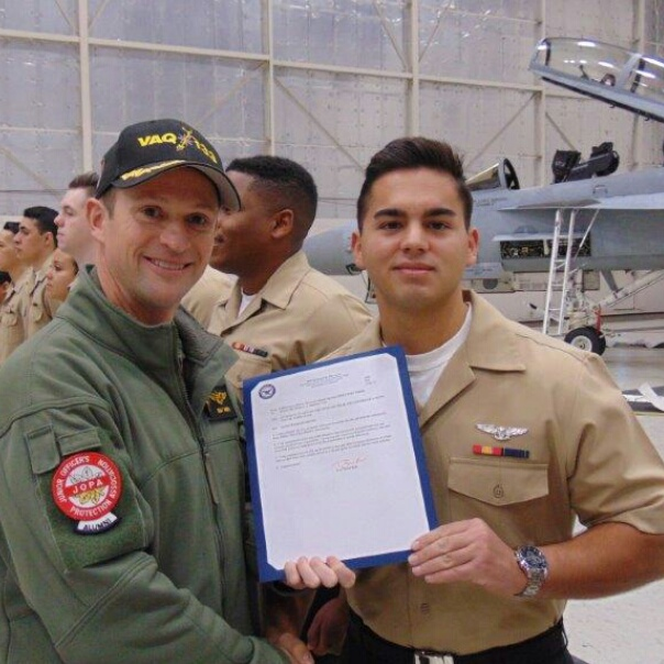 Matthew Martinez, U.S. Navy