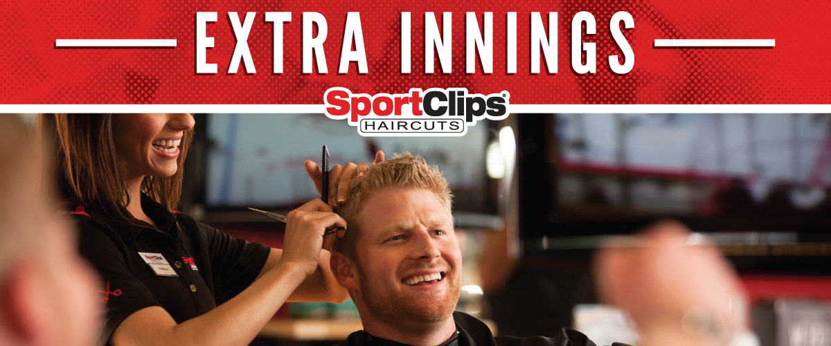 The Sport Clips Haircuts of Evans Extra Innings Offerings